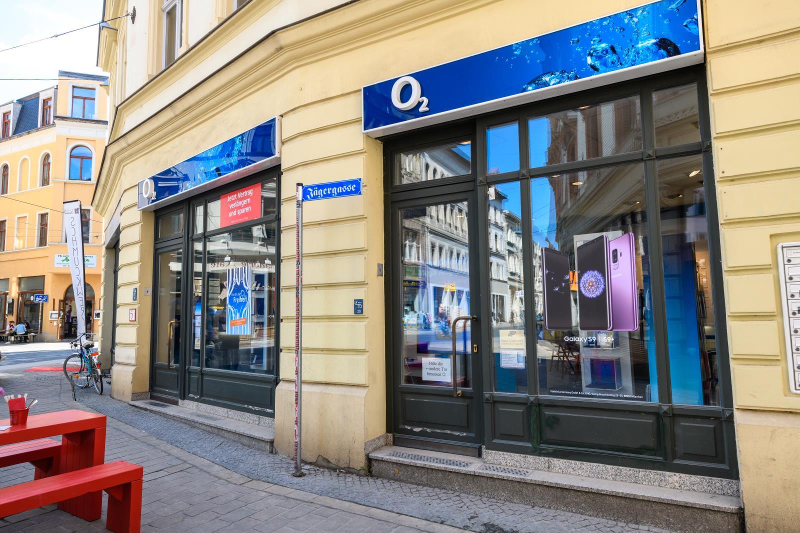 o2 Shop Halle