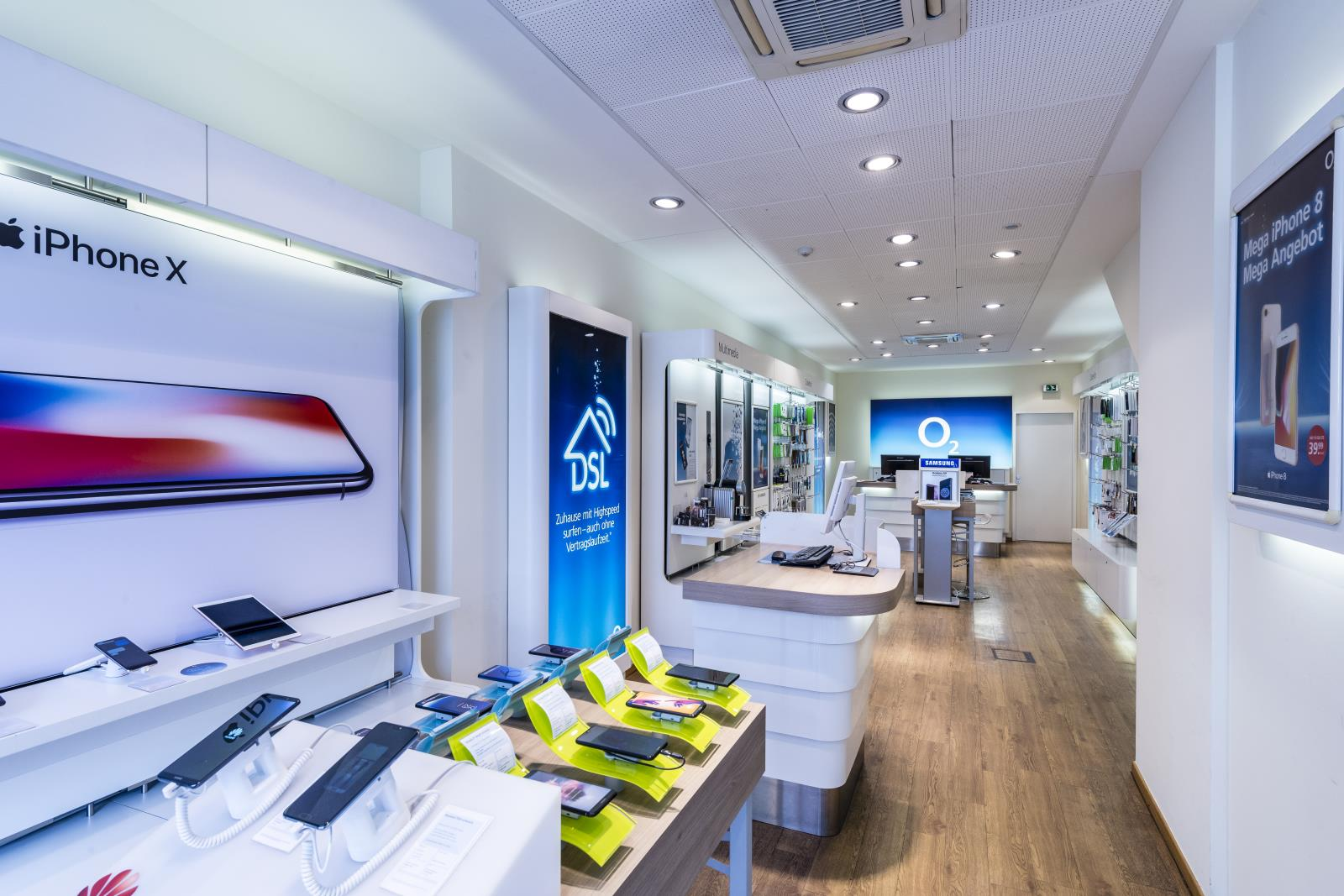 o2 Shop Aachen