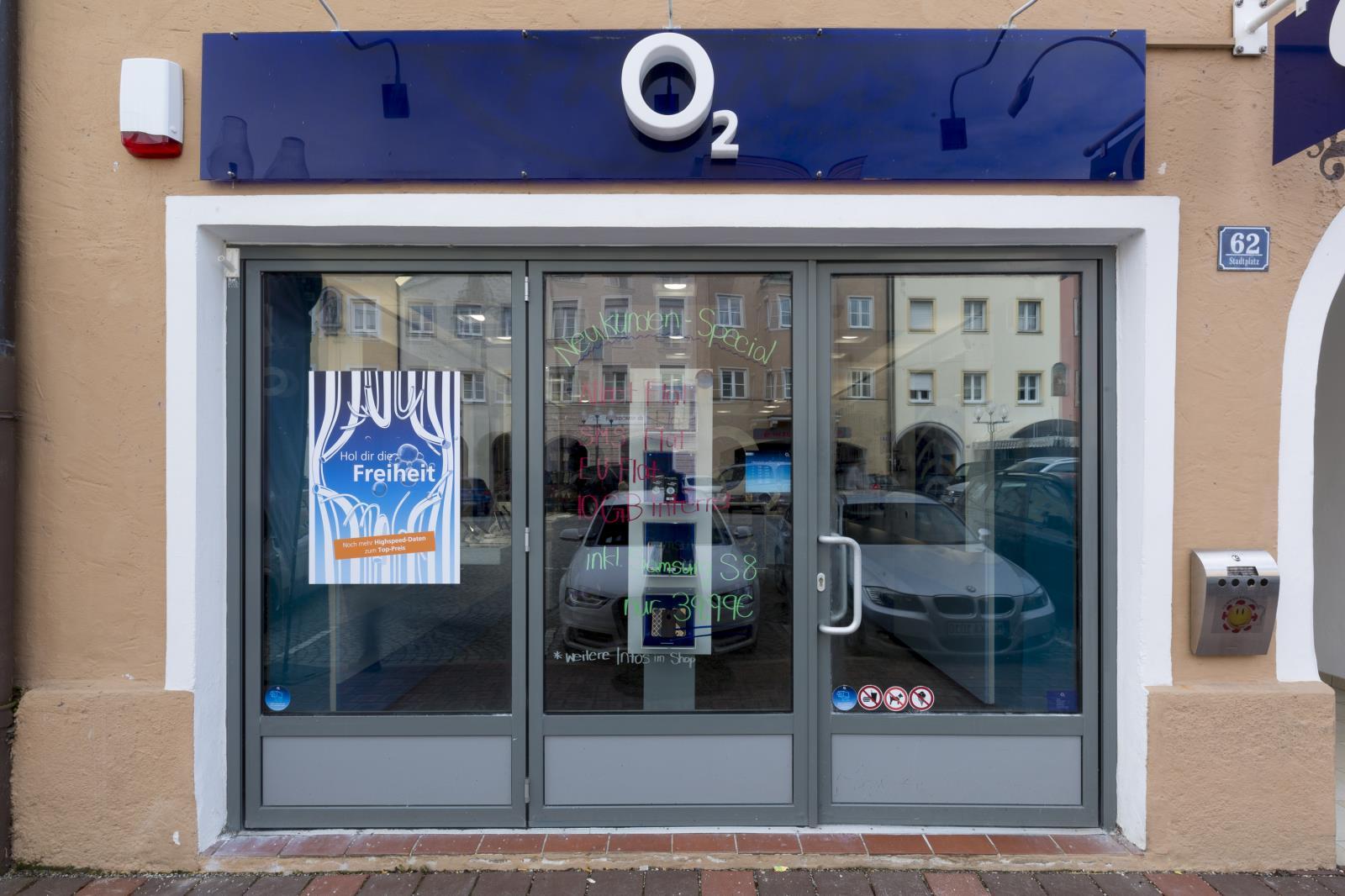 o2 Shop Mühldorf